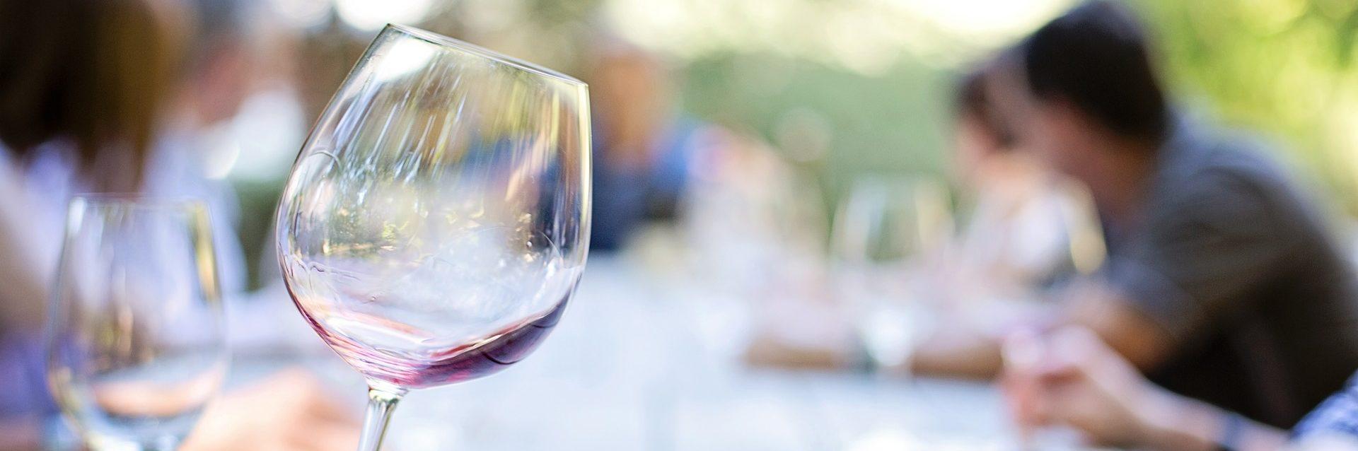 Scritte di vino